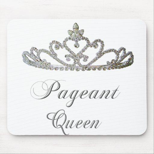Pageant Queen Mouse Pad