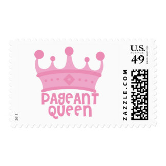 Pageant Queen Postage