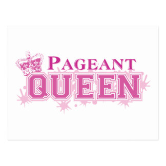 Pageant Queen Postcard