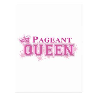 Pageant Queen Postcard