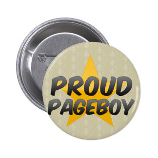 Pageboy orgulloso pins