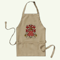 Pages Family Crest Apron