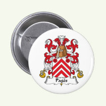 Pages Family Crest Button