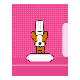 Pages for Recipes - Illustrated Custom Letterhead