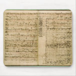 Pages from Score of the 'The Art of the Fugue' Mouse Pad