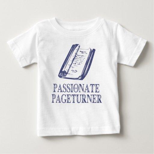 Pageturner apasionado camiseta