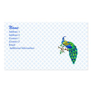 Pagiel Peacock Business Card Template
