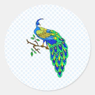 Pagiel Peacock Stickers