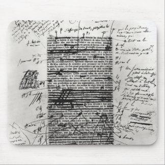 Página a partir del uno de los trabajos del Balzac Tapetes De Raton