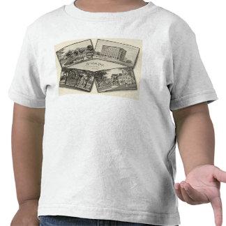 Página conmemorativa blanca de Nathaniel Camiseta