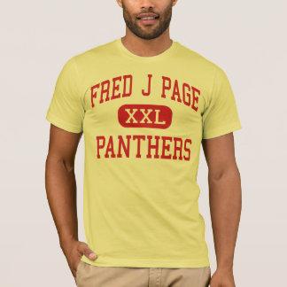 Página de Fred J - panteras - centro - Franklin Playera