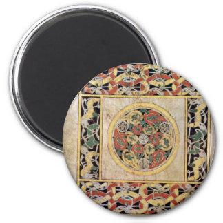 Página de la alfombra por el libro del DES de Meis Imán De Frigorifico