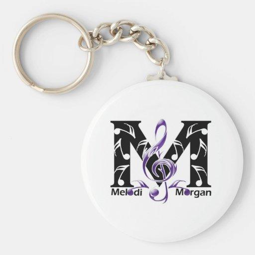 Página de la fan de Melodi Morgan Llavero Redondo Tipo Pin