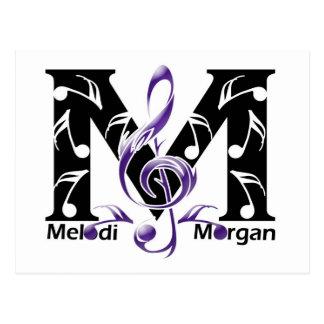 Página de la fan de Melodi Morgan Postales