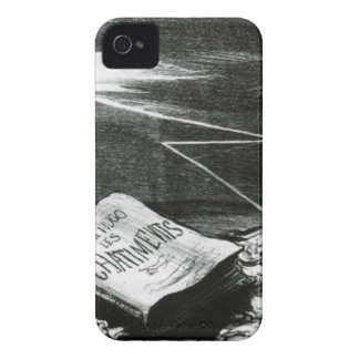 Página de la historia, castigos de Victor Hugo iPhone 4 Case-Mate Cobertura