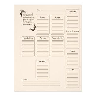 Página de Tarot Membrete A Diseño