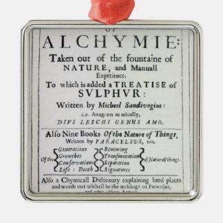 Página de título a la edición inglesa ornato