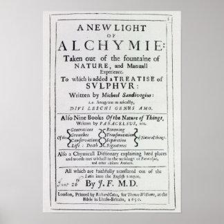 Página de título a la edición inglesa posters
