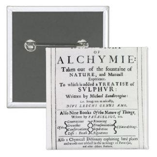Página de título a la edición inglesa pins