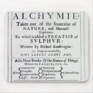Página de título a la edición inglesa alfombrillas de ratones