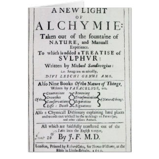 Página de título a la edición inglesa felicitación
