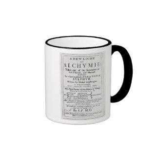 Página de título a la edición inglesa taza de café