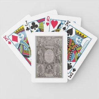 Página de título a la segunda edición 'del Herball Baraja Cartas De Poker