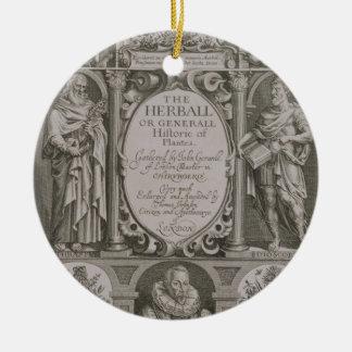 Página de título a la segunda edición 'del Herball Ornamente De Reyes