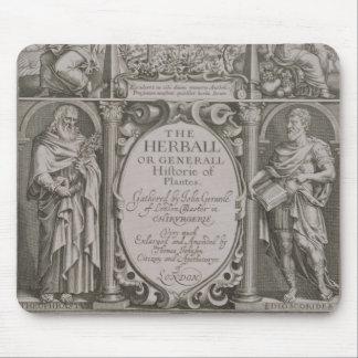 Página de título a la segunda edición 'del Herball Alfombrilla De Ratones