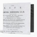 Página de título, a partir 'de la vida de Samuel J