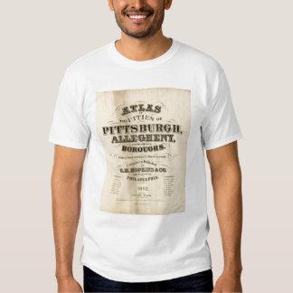 Página de título atlas de Pittsburgh, Allegheny Camisas