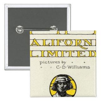 Página de título California limitada Pin Cuadrado