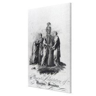 Página de título de la adaptación de Muzio Clement Impresion En Lona