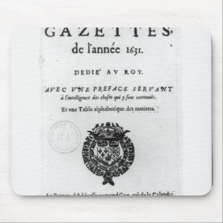 Página de título de la primera colección de 'La Alfombrillas De Ratones