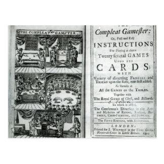 Página de título de la quinta edición tarjetas postales