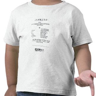 Página de título de los niveladores verdaderos camisetas