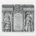 """Página de título """"de los trabajos de James I"""", gra Tapete De Raton"""
