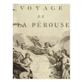 Página de título del atlas de Francia Postales