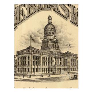 Página de título del atlas de Nebraska Tarjetas Postales