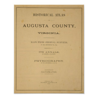 Página de título el condado de Augusta, Virginia Impresiones
