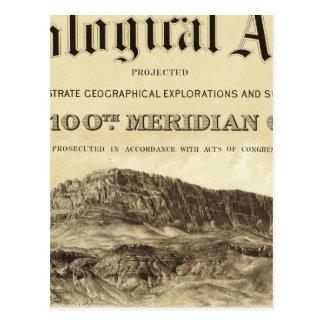 Página de título geológica del atlas postal