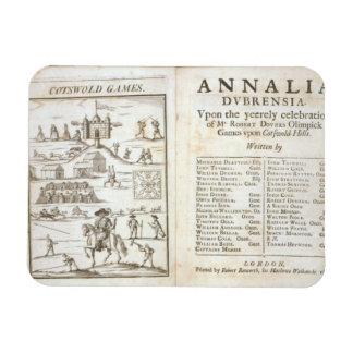 Página de título para Annalia Dubrensia Sobre el Iman De Vinilo