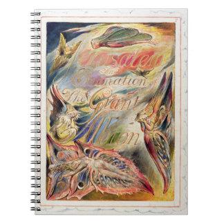 Página de título para 'Jerusalén: La emanación del Spiral Notebooks