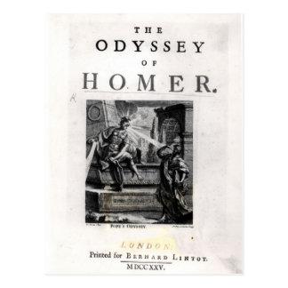 """Página de título para """"la odisea"""" por home run postal"""