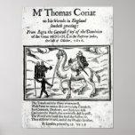 Página de título, travles de Thomas Coryat en la I Impresiones