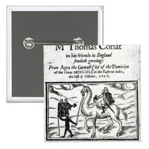 Página de título, travles de Thomas Coryat en la I Pins