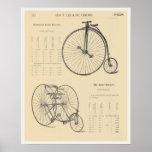 página del catálogo del triciclo de la bicicleta d posters