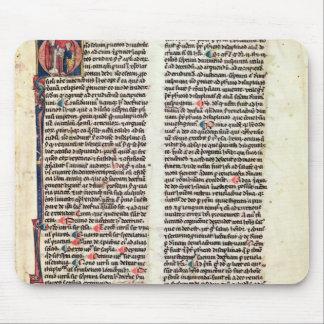 """Página del """"Somme de Theologie' Alfombrillas De Raton"""