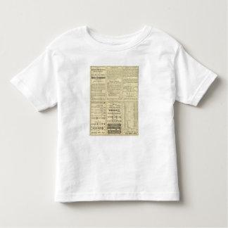 Página del texto del ferrocarril de St. Louis y de T-shirts