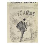 Página delantera de 'Le Journal Amusant' Postal